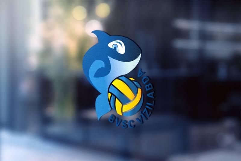 Orca logó üvegen